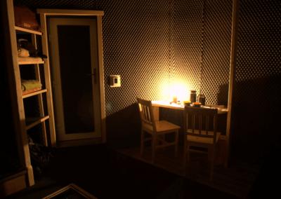 pobyt ve tmě terapie tmou místo